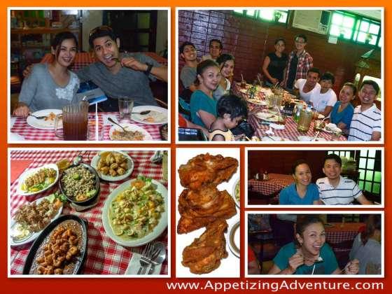 AFC Angeles Fried Chicken Collage