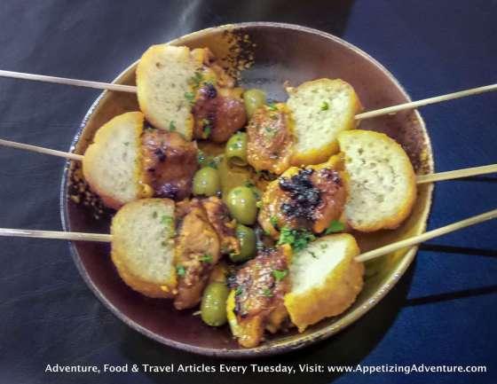 Chicken Pintxos (Chicken Inasal Skewers)