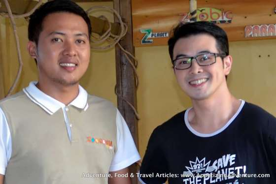 With Zoocobia's Joemar Deang
