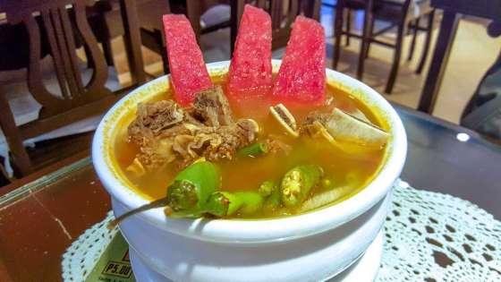 Sinigang Na Beef Ribs Sa Watermelon Php365
