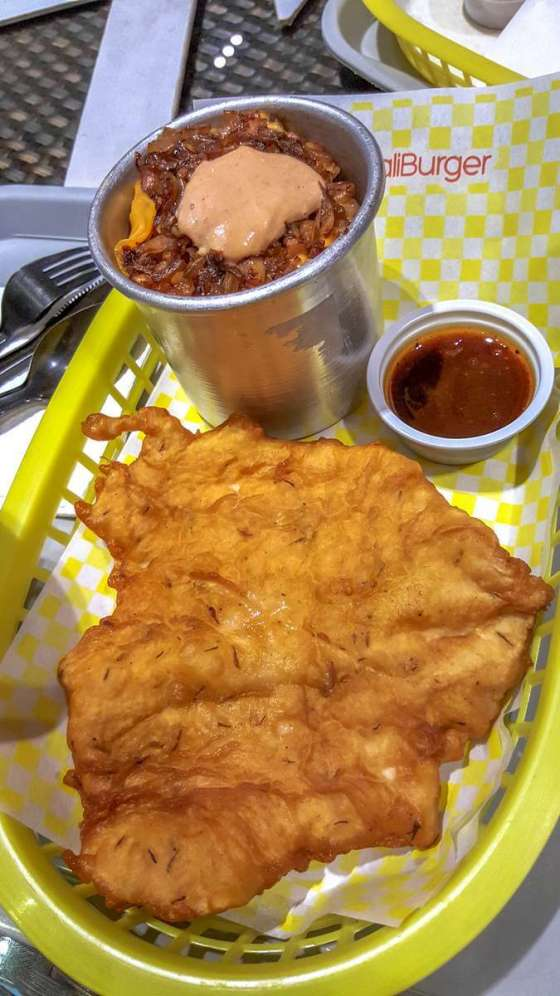 Schnitzel Php195 (with wild style rice)