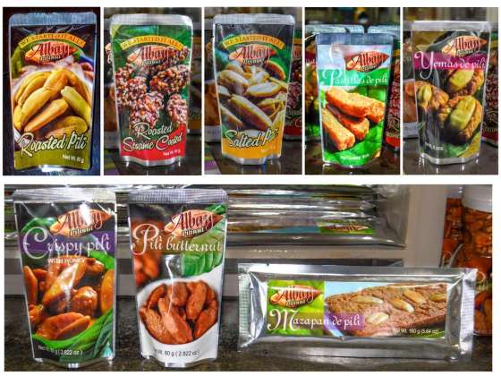 Albay Pili Nut Candy Products