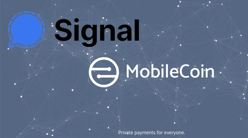 Signal and MobileCoin