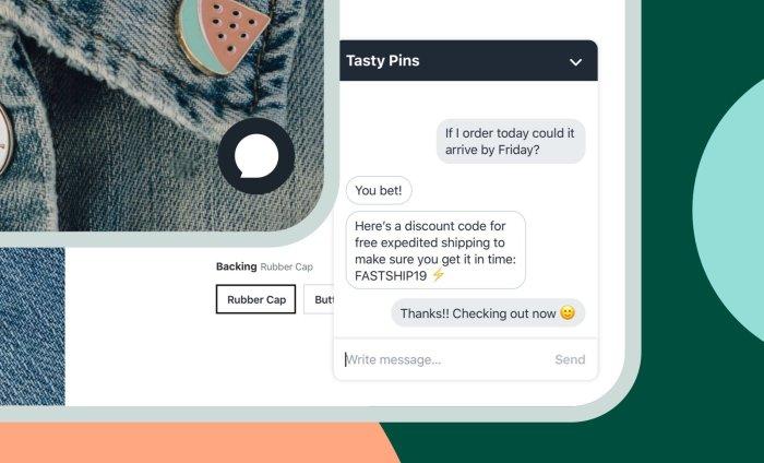 shopify live chat