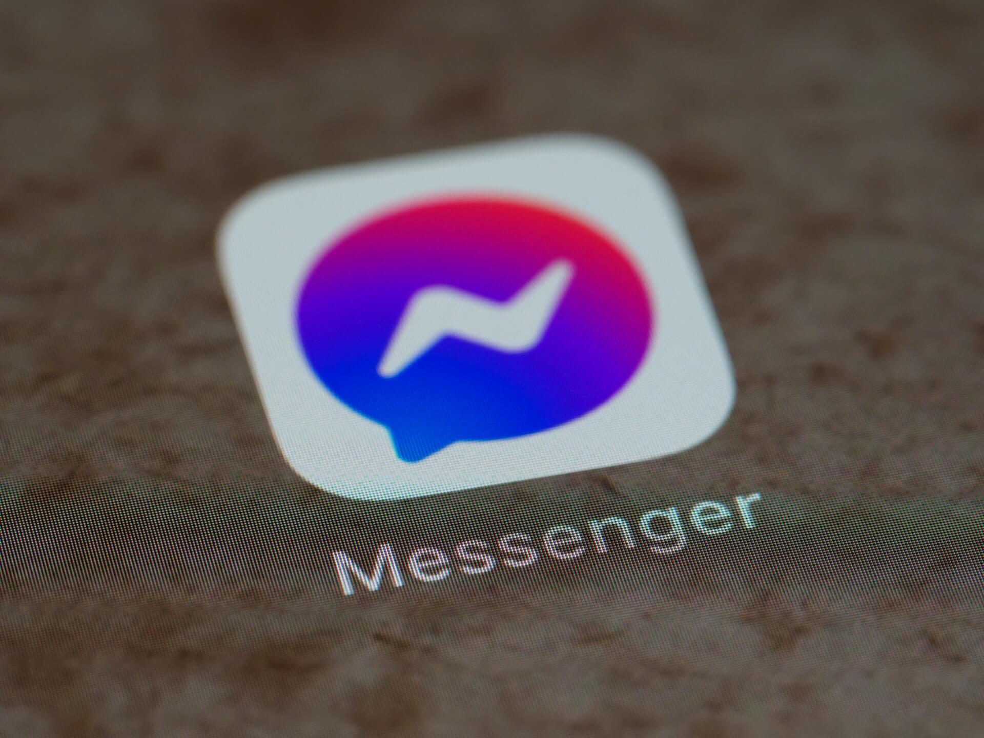 facebook messenger restock alert template