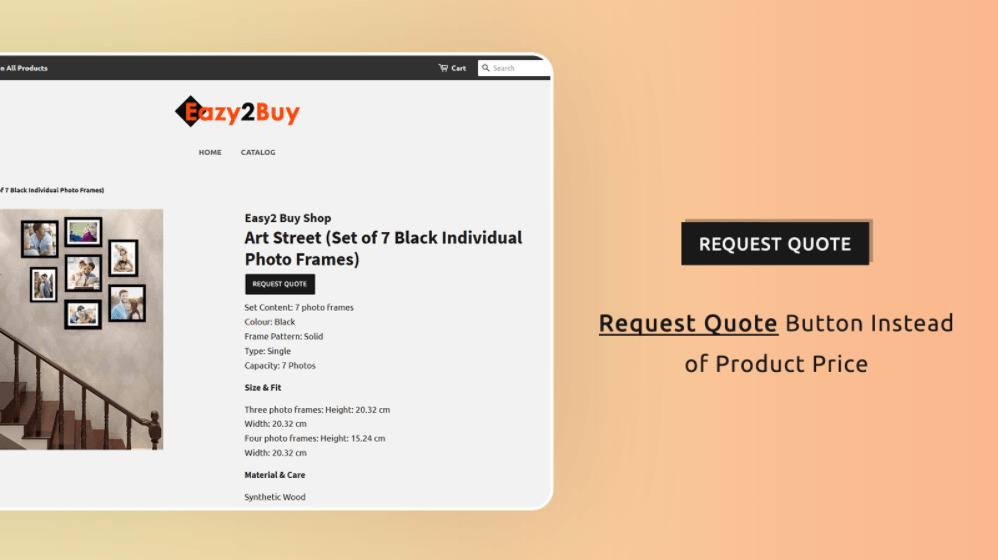 request price example
