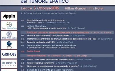 Terapia farmacologica e mininvasiva del tumore epatico
