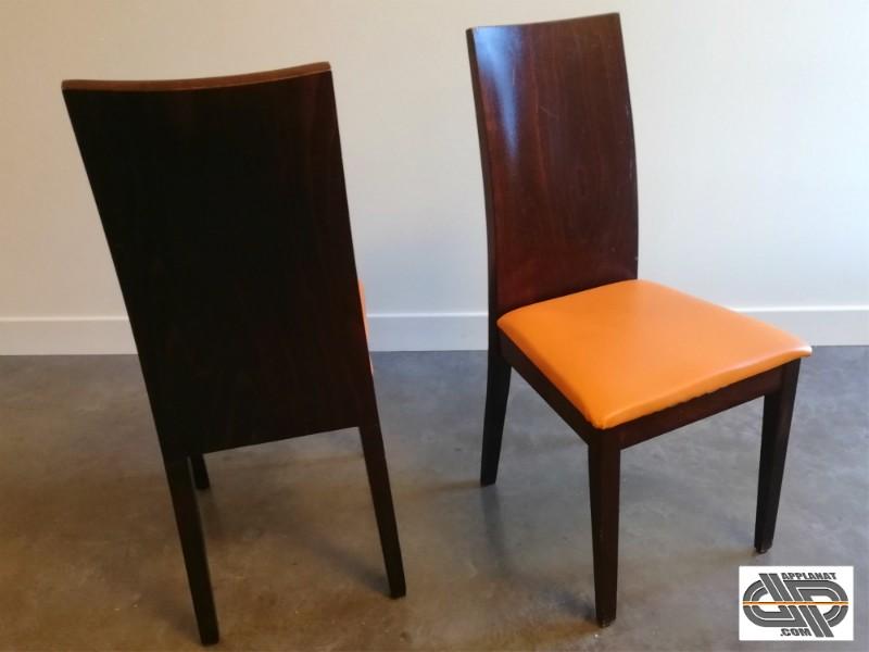 mobilier chr chaises en bois massif