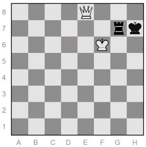endgame win for white
