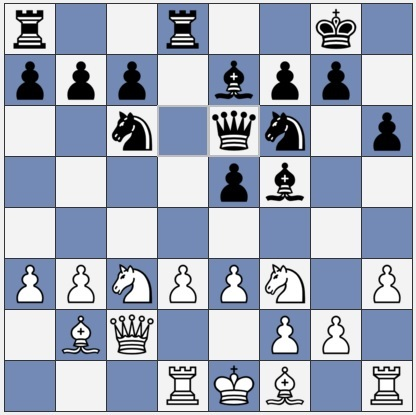 After Black's 12th move