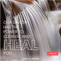 Our Savior has the power to cleanse and really heal you