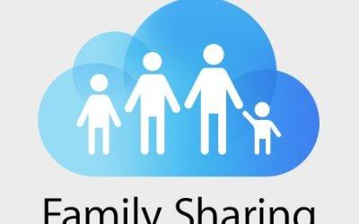 Family Sharing iCloud set up
