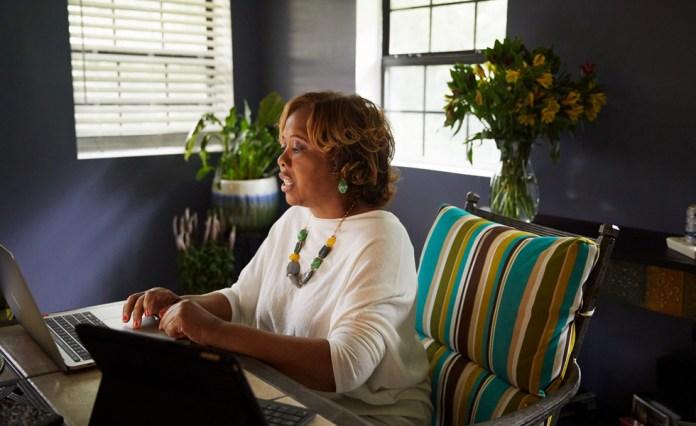 Portrice Warren, insegnante nel distretto scolastico di Birmingham.