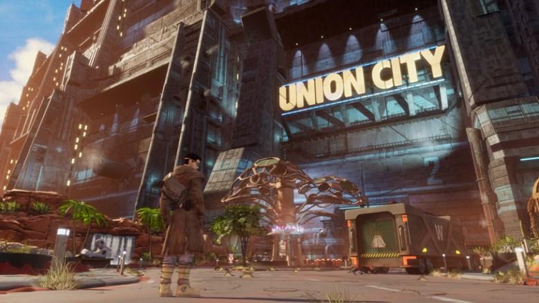 Imagen del juego Beyond a Steel Sky en Apple Arcade.