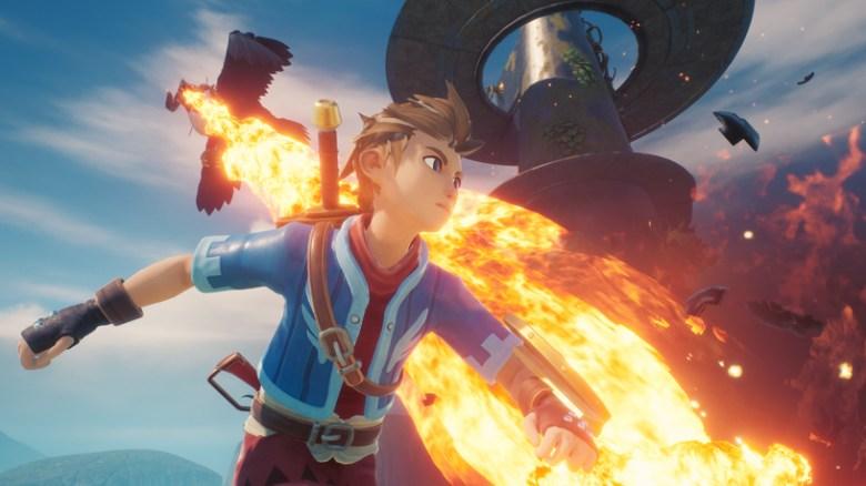 Imagen del juego Oceanhorn 2: Knights of the Lost Realm en Apple Arcade.