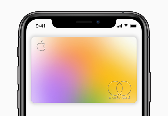 Apple Card on iPhone.