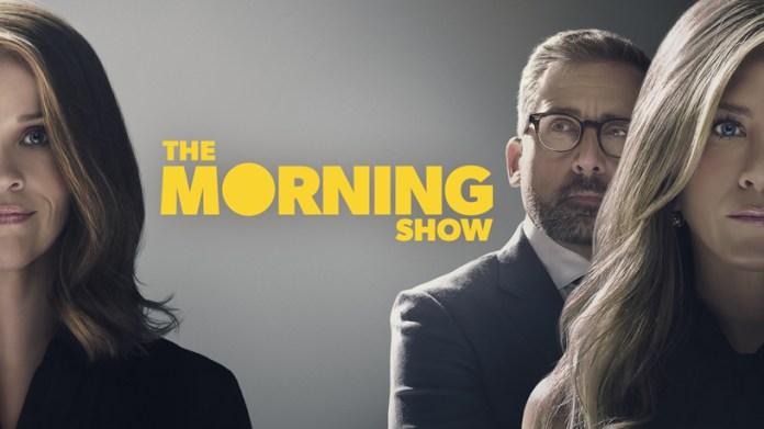 """Tela de título de """"The Morning Show"""" no Apple TV+."""