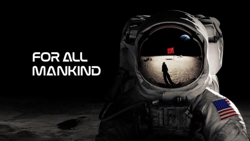 "Pantalla de título para ""For All Mankind"" de Apple TV +."