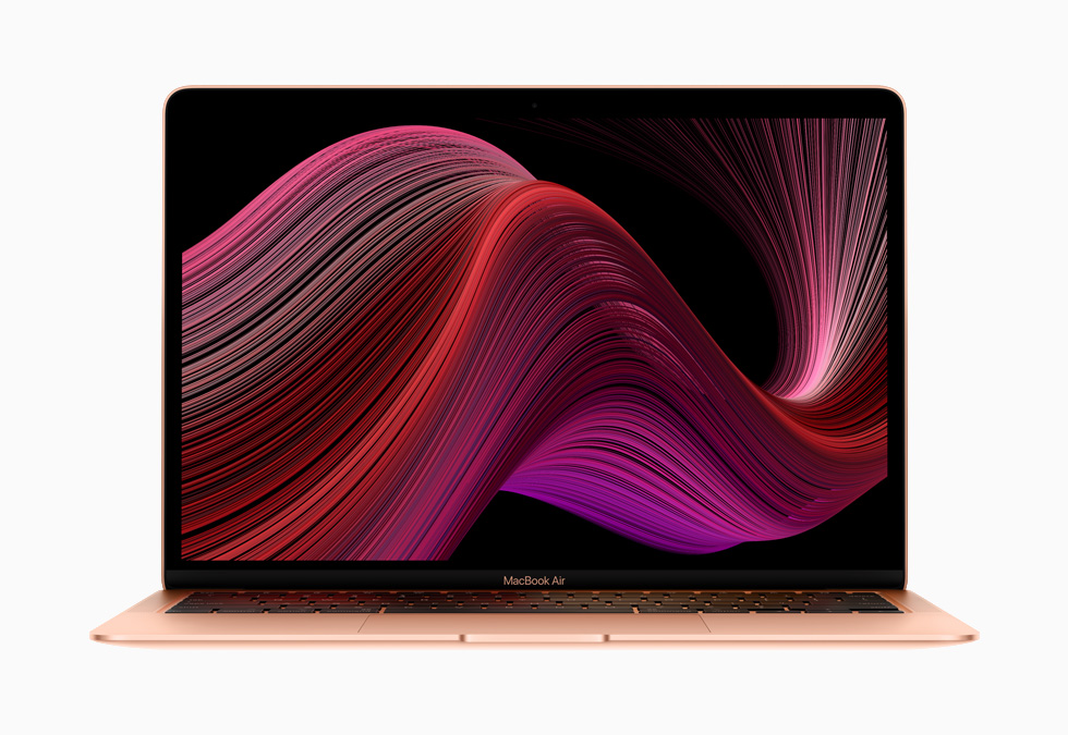 The new MacBook Air.
