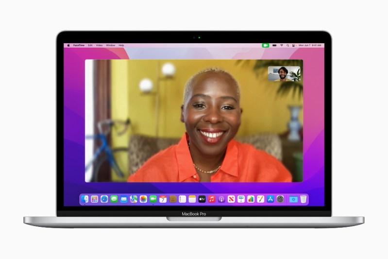 """Le nuove funzioni video di FaceTime su MacBook Pro 13""""."""