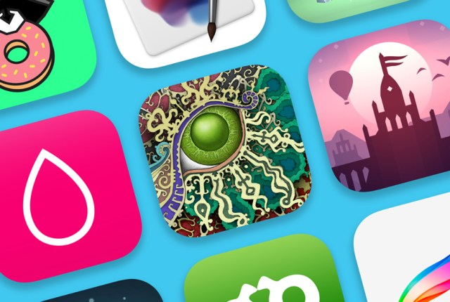 Collage of app icons.