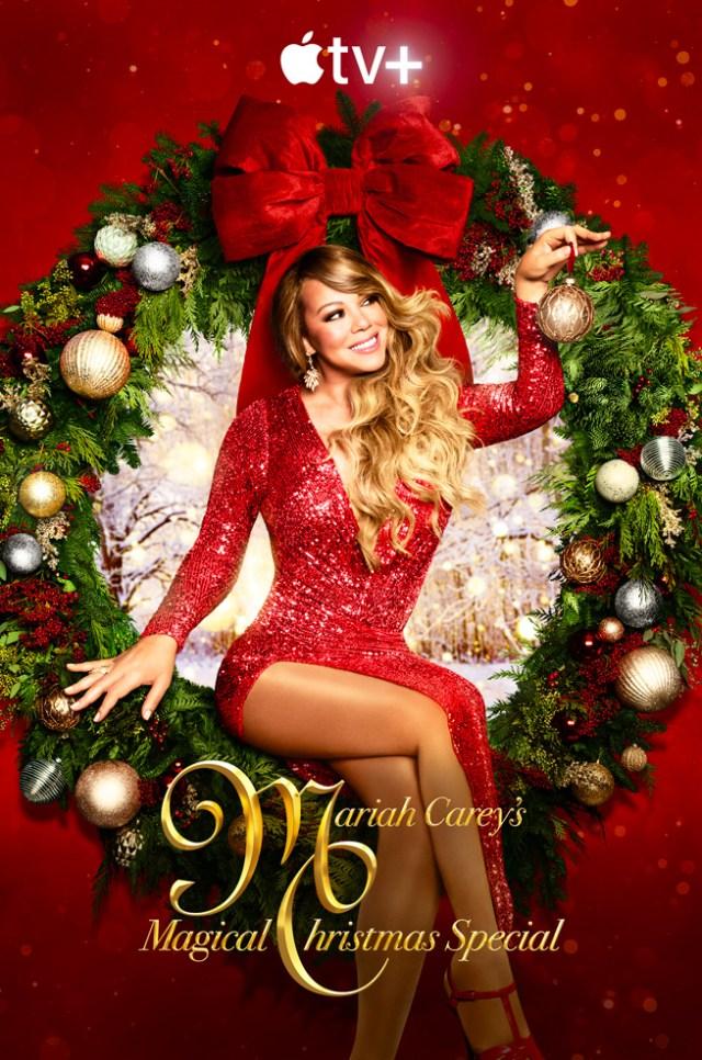 """Mariah Carey's Magical Christmas Special"" key art"