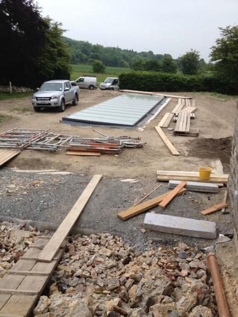 Site construction in progress
