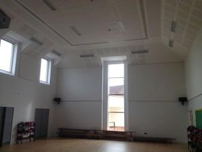 New hall interior