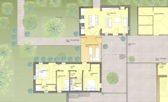 Ground floor plan illustration