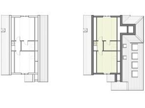 Existing & proposed third floor