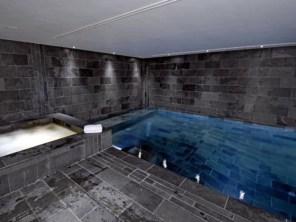 Interior pool room