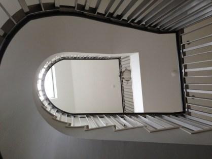 Stairway looking up