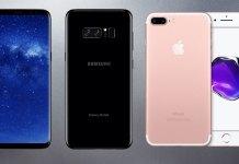 iPhone 7 Plus ve Galaxy Note 8 Kamera