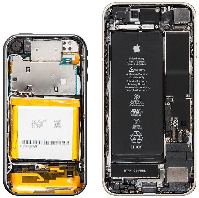 Original iPhone ve iPhone 8