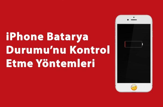 iPhone Batarya Durumu