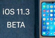 Apple iOS 11.3 Beta 3 sürümü yayınlandı