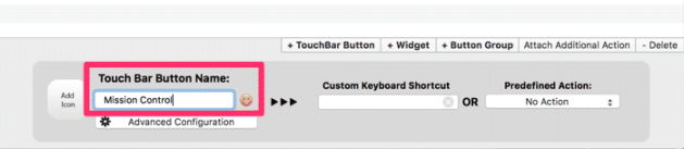 customize the touch bar global shortcut