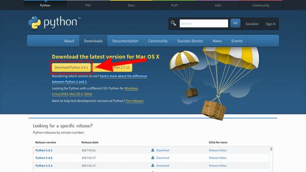 python 3 mac download page