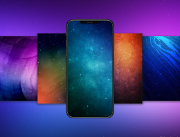 Wallpapers! Novas imagens inspiradas no iPhone X!