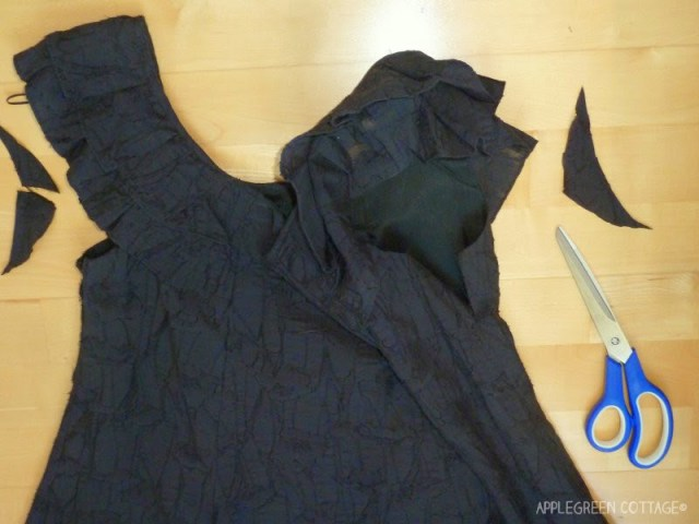 simple dress alteration