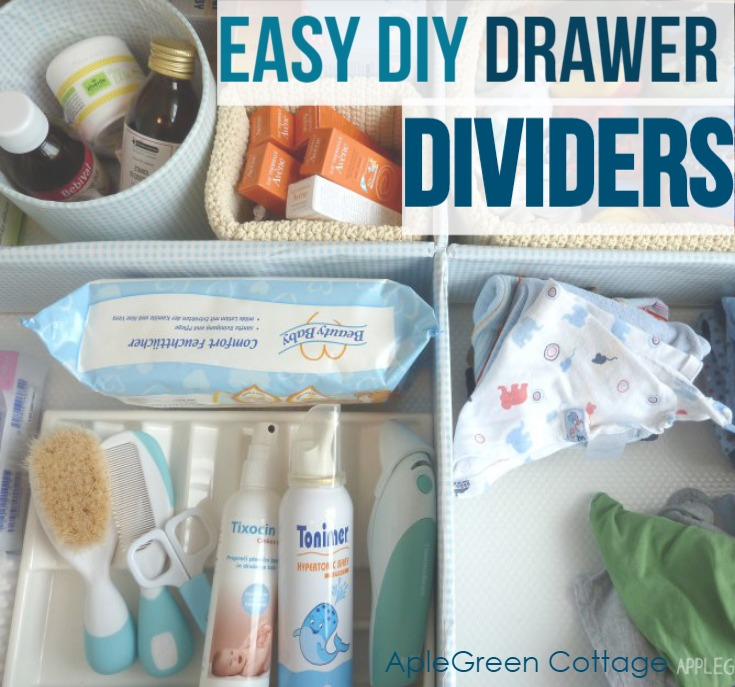 easy diy drawer divider