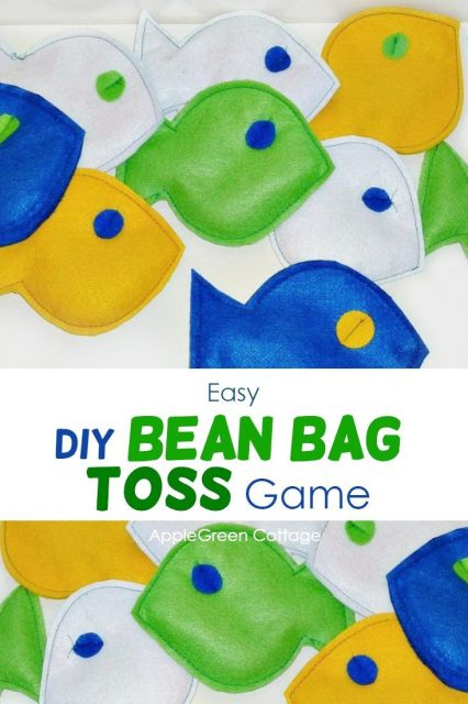 bean bag toss diy