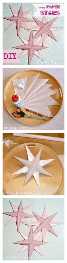 Easy DIY Paper Stars