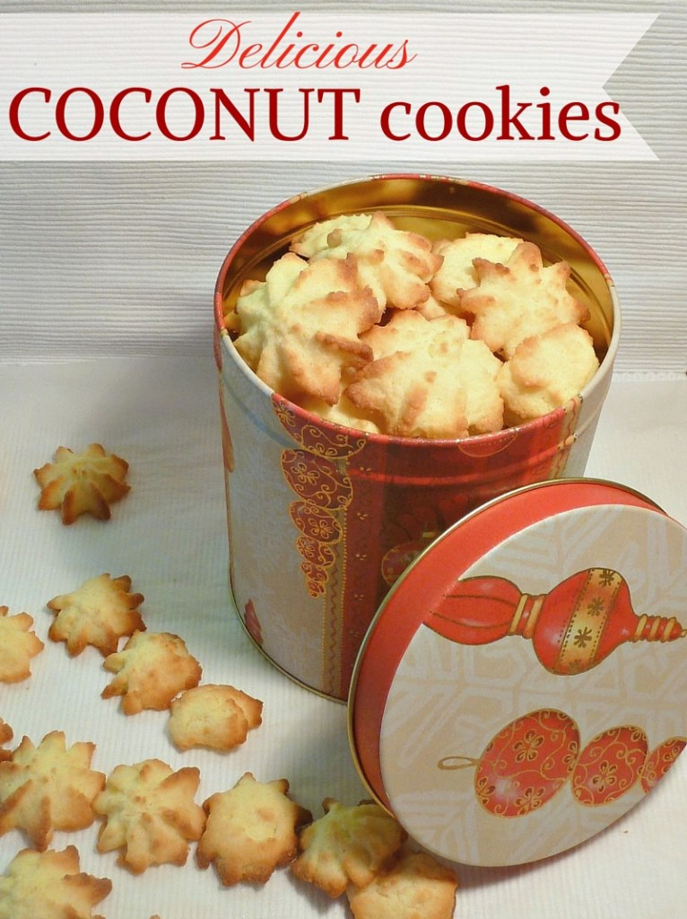 Delicious Coconut Cookies For Christmas