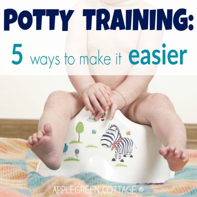 potty training - make it easier
