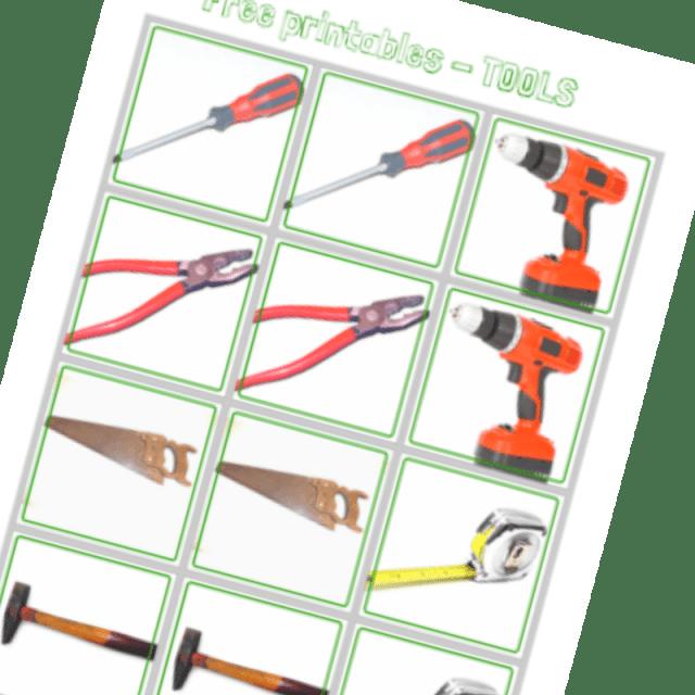 tools printables