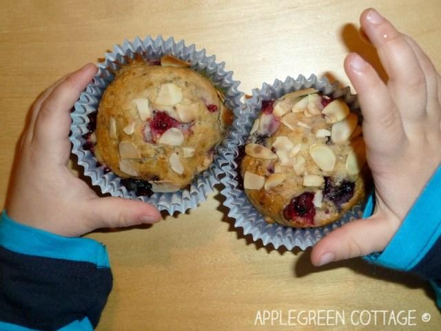 vegan muffins - no milk no eggs