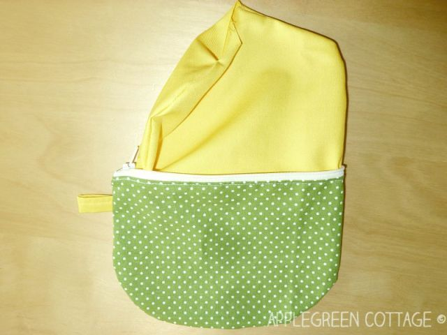 easy zipper pouch tutorial