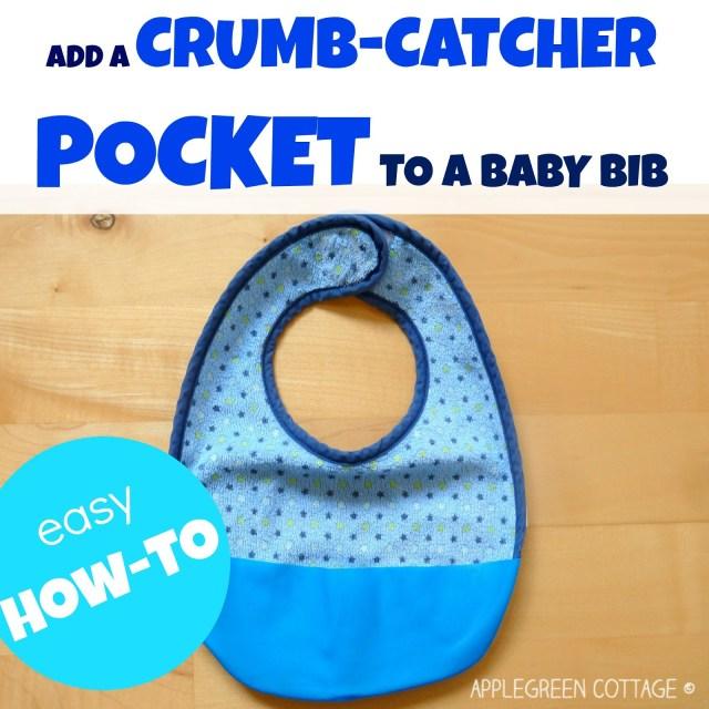 crumb catcher bib