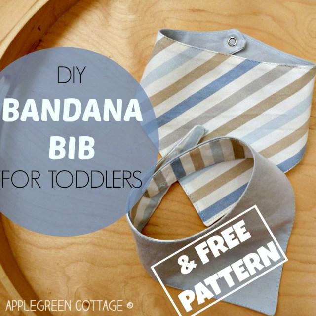 my best baby bib pattern and tutorial